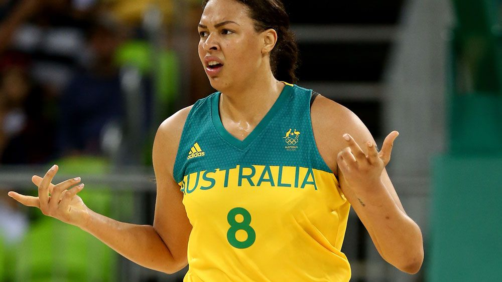 Liz Cambage starred as the Opals won their second straight match. (Getty Images)