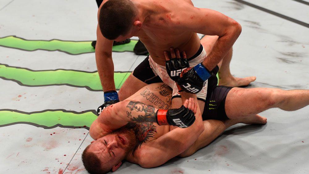 Diaz shocks McGregor for biggest UFC win