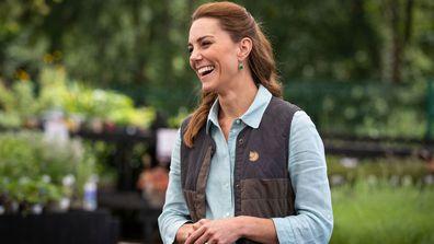Kate Middleton pops into a garden centre, June 2020