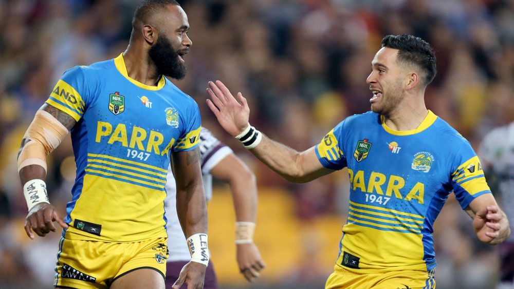 NRL: Parramatta Eels winger Semi Radradra blitzes Brisbane Broncos with four-try effort