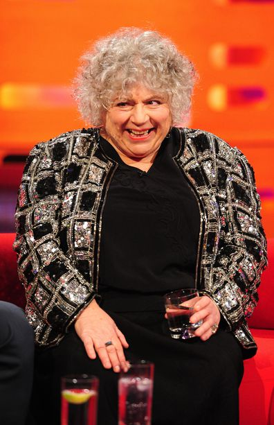 Miriam Margolyes, Graham Norton Show, 2014, London