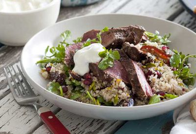 Persian lamb with orange couscous