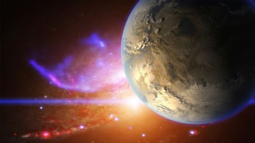 Water Detected on Planet Inside the Habitable Zone for the First Time