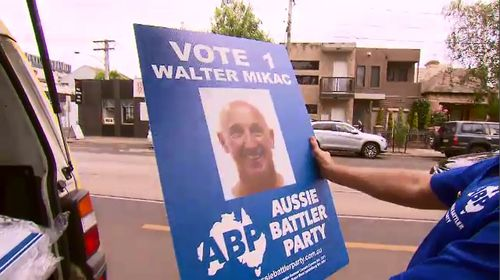 Mr Mikac is now a candidate for the Aussie Battler's Party.
