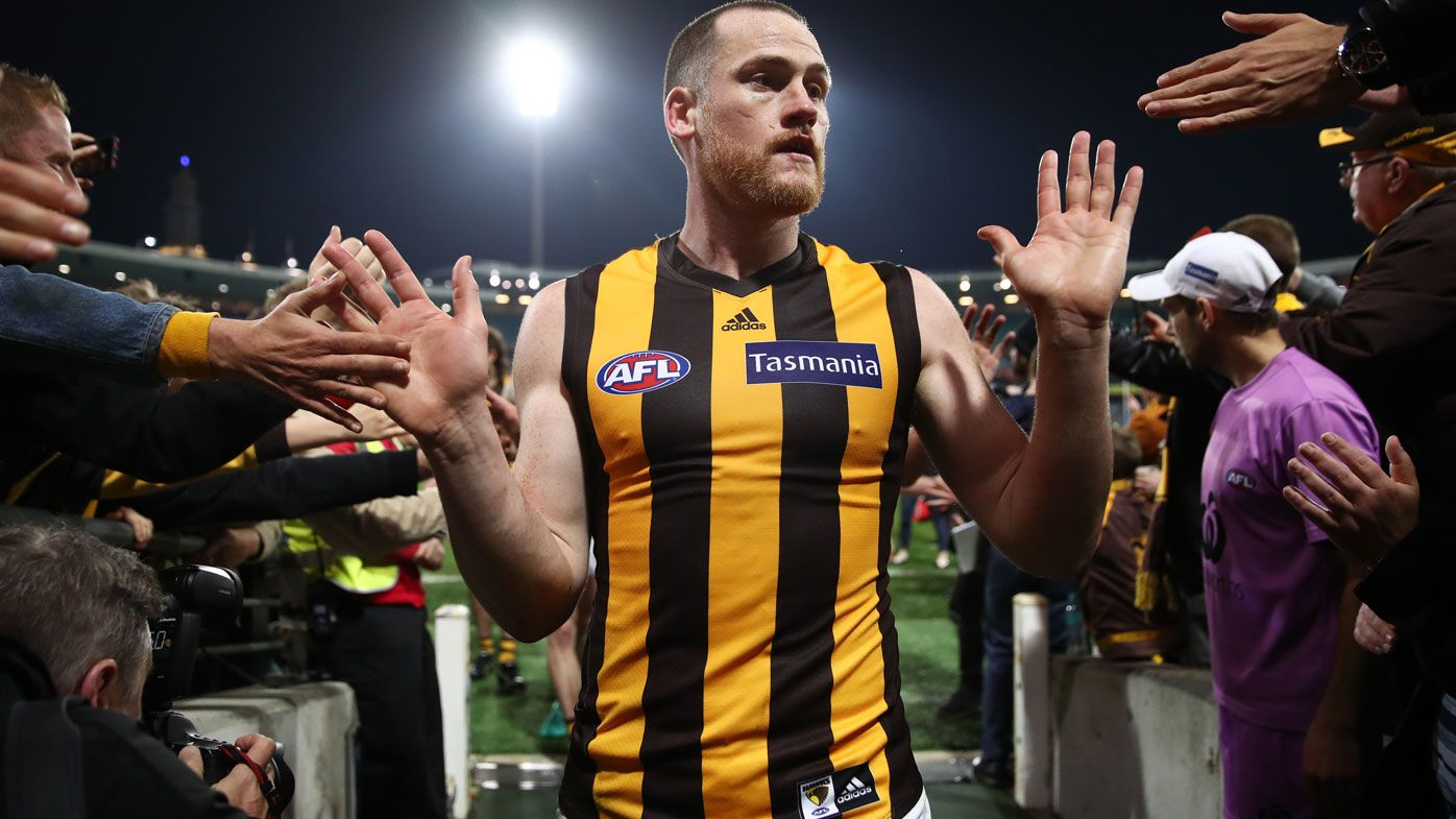 AFL: Hawks veteran Jarryd Roughead to get dream farewell