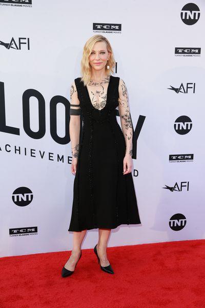 Actress Cate Blanchett in Aouadi Paris