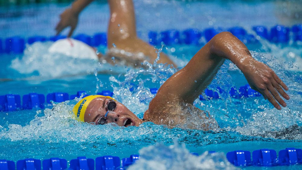 Emma McKeon misses bus but still fast at world swimming championships in Budapest