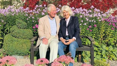 Prince Charles and Camilla's Christmas card image for 2020, December