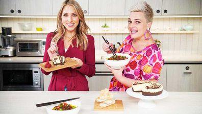 Britt Cohen and Jane de Graaff munch on our favourite peanut butter recipes