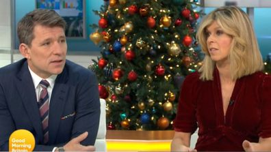 Kate Garraway on Good Morning Britain talking about Christmas without husband Derek Draper, who has been in hospital since contracting COVID-19 in March