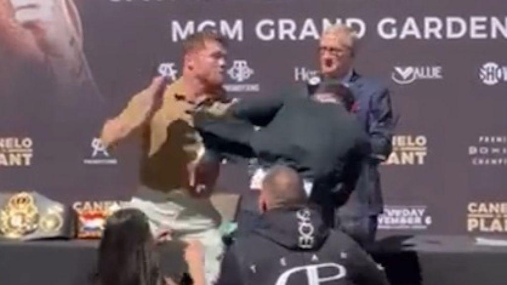 UFC boss Dana White unloads over Canelo Álvarez-Caleb Plant face-off brawl