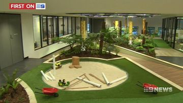 VIDEO: A first look into Queensland's new luxury inner-city childcare centre