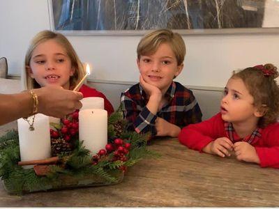 Princess Madeleine's children prepare for Christmas, December 2020