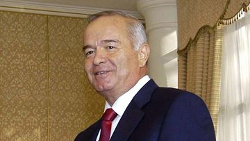 Uzbekistan's President Islam Karimov in a file photo, dated December 19, 2003. (AFP)