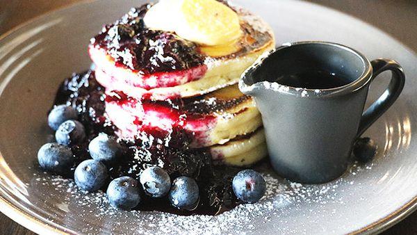 The Gantry's blueberry pancakes