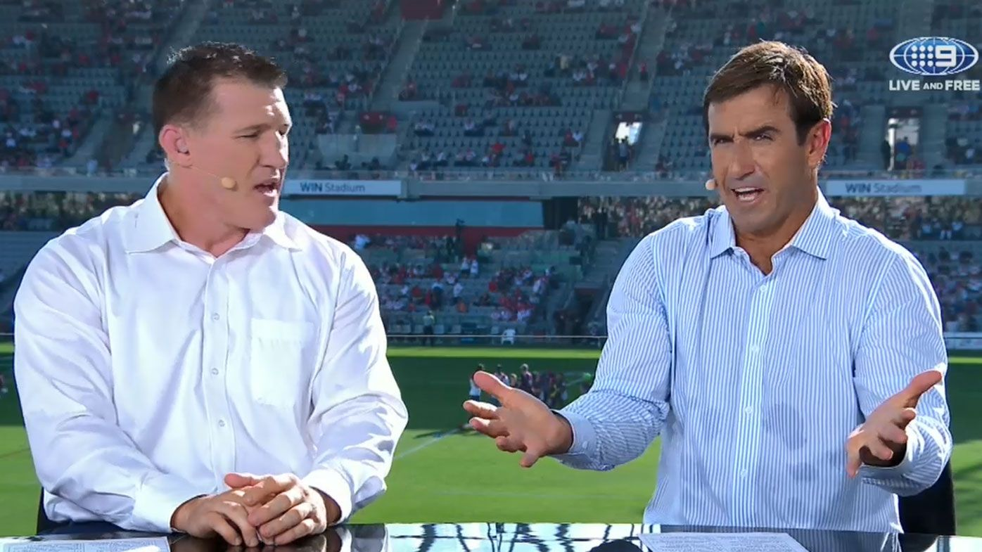 Referees are 'destroying' NRL games as spectacles with high penalty counts, says Andrew Johns