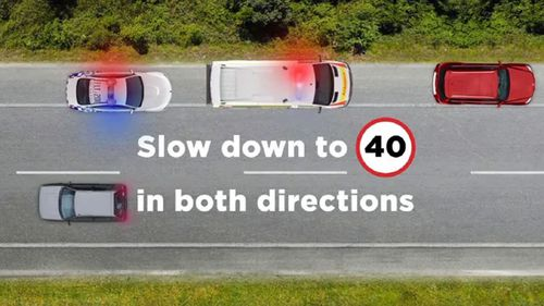 The rule has been met with opposition and claims it is endangering the safety of drivers, especially on motorways. (Photo: NSW Police.)