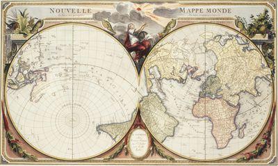 Francesco Santini map, 1776