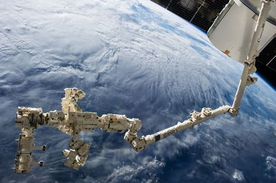 ISS robot arm