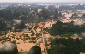 Dozens killed, hundreds of thousands displaced as China floods