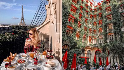2. Plaza Athenee – Paris, France