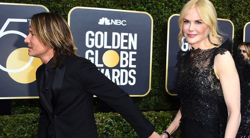 Kidman also spoke of her love for her husband Keith Urban in her speech. (AAP)