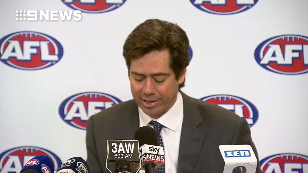 AFL CEO Gillon McLachlan addresses Ali Fahour coward-punch incident