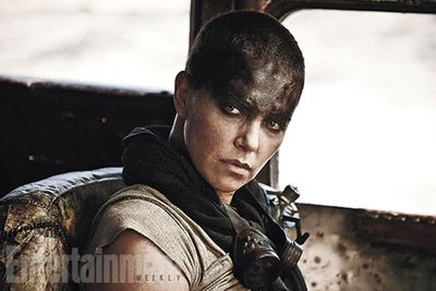 """""""And… Furiosa (played by <b>Charlize Theron</b> from <i>Prometheus</i>), a woman of action and a woman who believes her path to survival may be achieved if she can make it across the desert back to her childhood homeland."""""""