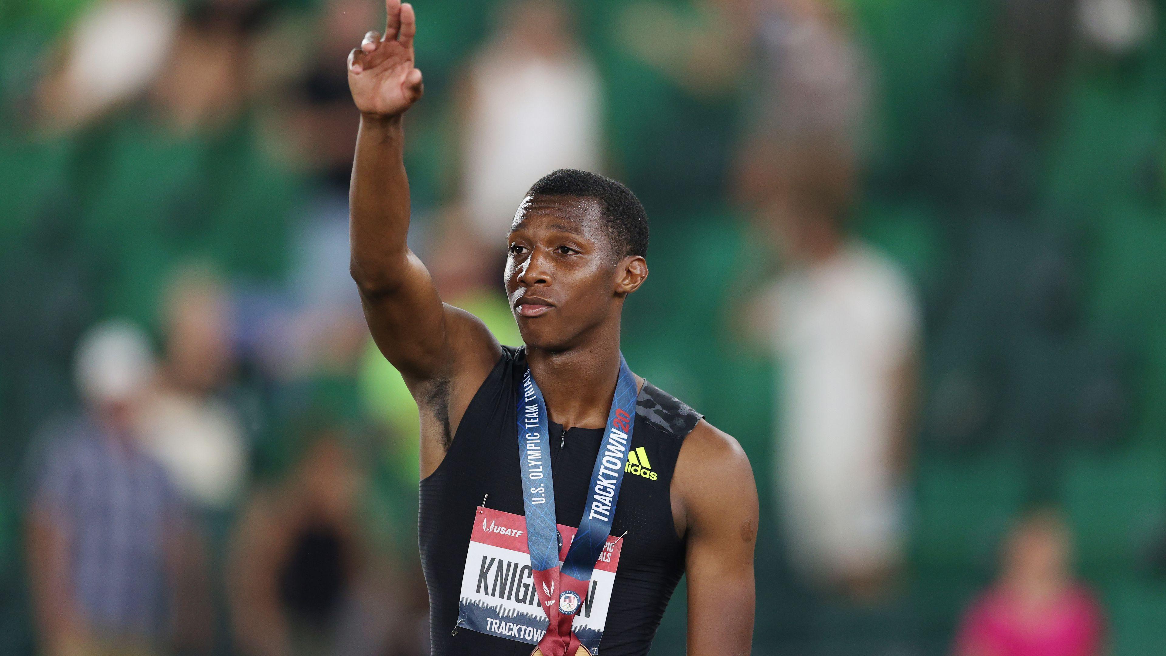 17-year-old Erriyon Knighton surpasses Usain Bolt record in blistering display