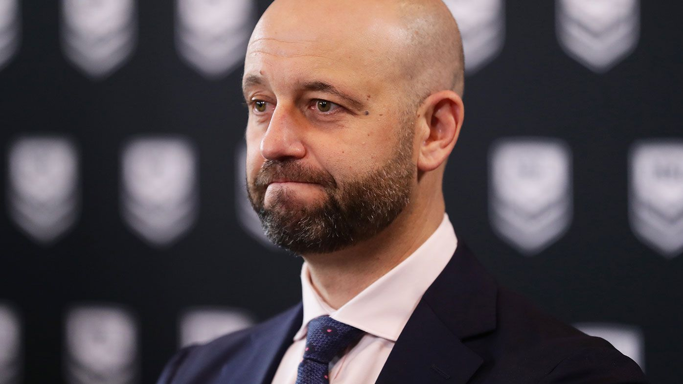 NRL chief executive Todd Greenberg fears for leagues club-backed teams in shutdown