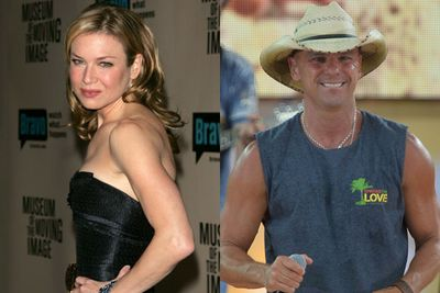 In May 2005, Renee marries country-crooner Kenny Chesney... before splitting a few months later. <br/><br/>Think she got some break-up botox?