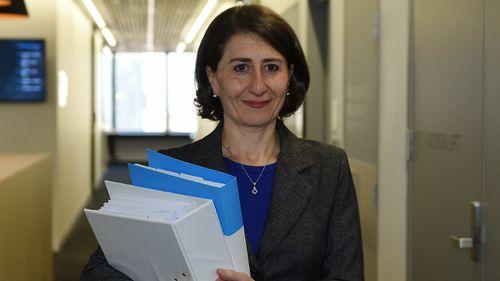 NSW Treasurer Gladys Berejiklian is handing down her first state budget. (AAP)