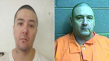 Raymond Pillado (left) and Anthony Palma Picture: Oklahoma Department of Corrections