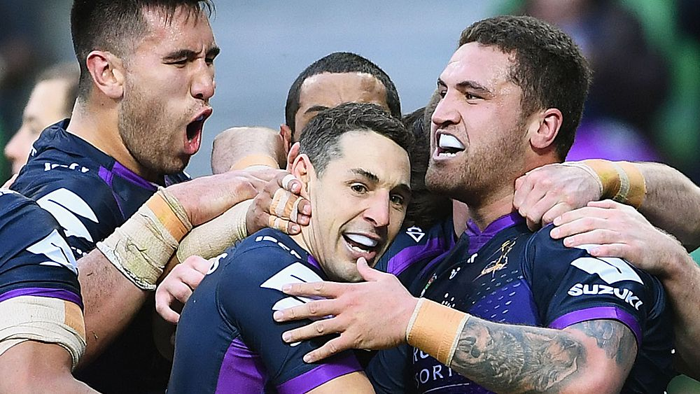 Storm closer to title after edging Eels
