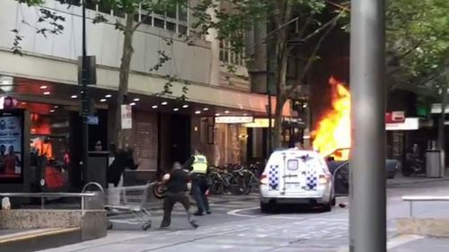 It's been more than one week since Melbourne's CBD descended into chaos when Shire Ali lit his car on fire on Bourke Street.