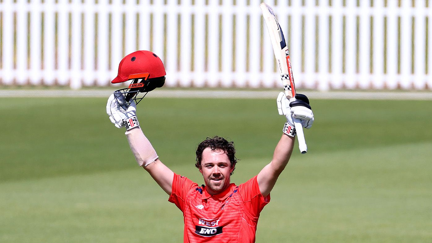Travis Head strikes phenomenal Marsh one-day cup double ton in bid to win back Test spot for the Ashes