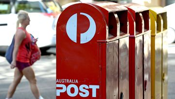 Post boxes from Australia Post (Greg Wood/AFP/Getty Images)