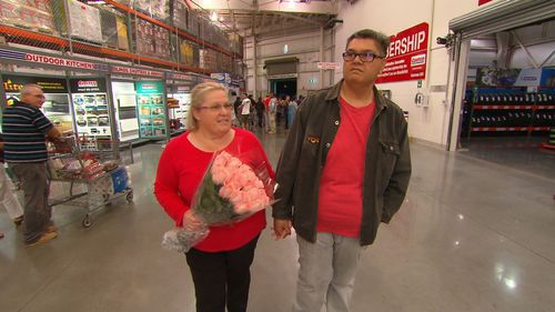 Sue Berkeley and Eli Bob will be getting married at Costco.