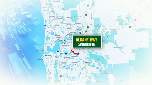 In Perth, the Albany Highway at Cannington topped the list.
