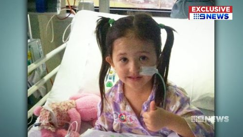 Amber Yoon is half the size of most children her age, having been born with a rare condition that has seen her in and out of hospital her whole life.