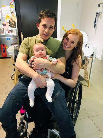 Chloe Kennedy spinal injury