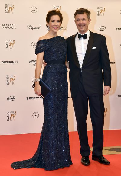 Princess Mark and Crown Prince Frederik of Denmark at the 2014 BAMBI Awards in Berlin, Germany