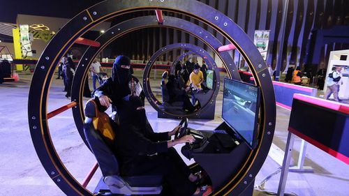 Women will be allowed to legally drive from Sunday in a major move for Saudi Arabia. Picture: EPA