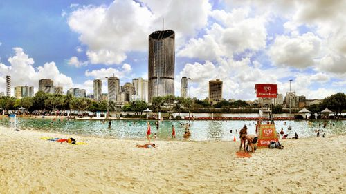 Brisbane could be in for a stormy start to 2018. (9NEWS)