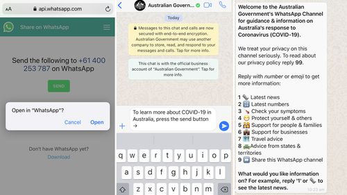 How to get WhatsApp updates on your mobile or tablet.