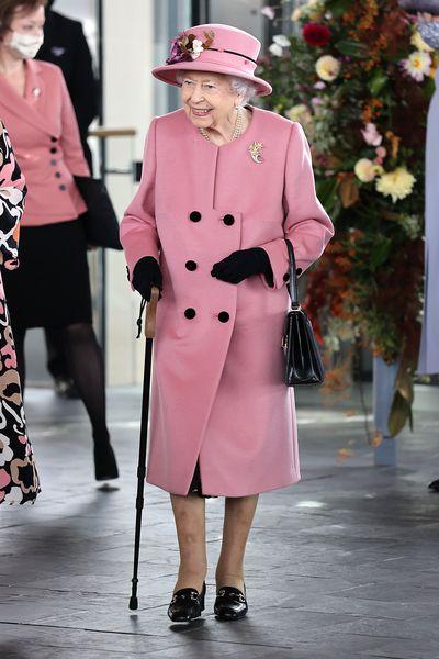 Queen Elizabeth opens Welsh parliament, October