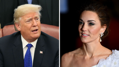 Donald Trump's comments about Kate Middleton have resurfaced ahead of his visit to the UK.