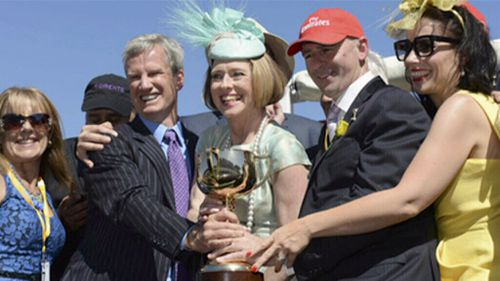 Waterhouse won the Melbourne Cup in 2013.