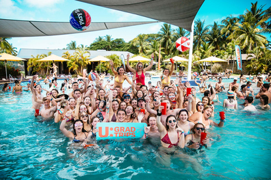 Unleashed Travel Fiji schoolies grad trips pool party
