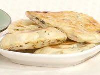 Naan and peshwari naan bread